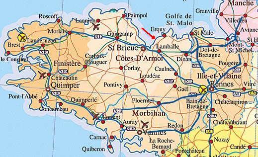 sainte lune bretagne carte Dahouët (Côtes d'Armor)